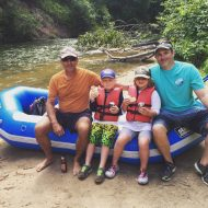Rafting on the Pine River