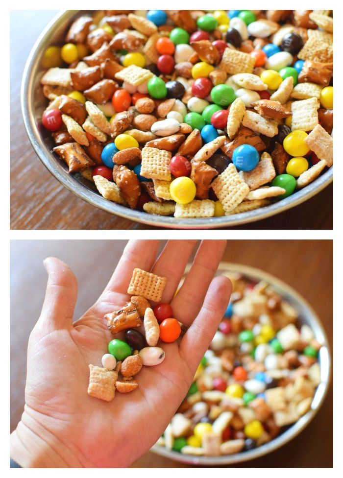 The Best Sweet and Salty Snack Mix - A Bird and a Bean