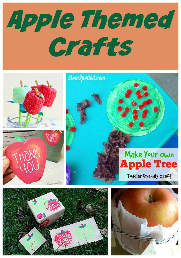 Apple Crafts are sure to remind you of the Fall Season!  Check out this list of our favorite Apple Crafts that are perfect to make with your kids!
