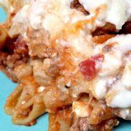 Lasagna Casserole Freezer Meal