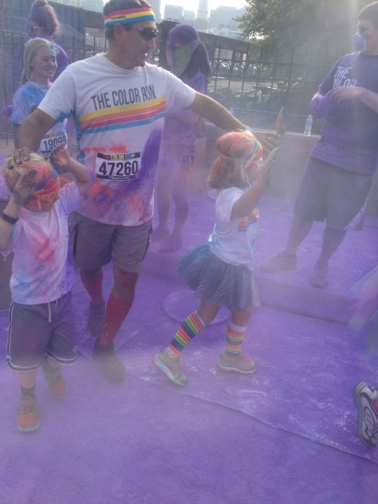 color run haze