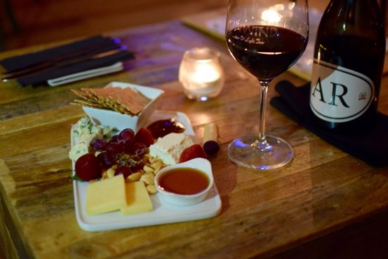 The Artisan Cheese Board at Unwind Bar