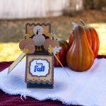 3D Thanksgiving Card