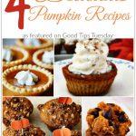 4 Delicious Pumpkin Recipes