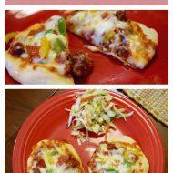 Sloppy Joe Mini-Pizzas