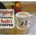 Instant Caramel Butter Coffee