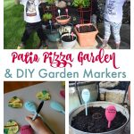Patio Pizza Garden Plus DIY Garden Markers