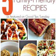 5 Easy Family Friendly Recipes