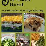 Summer Garden Harvest Recipes