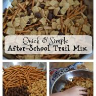 Quick and Simple After-School Trail Mix
