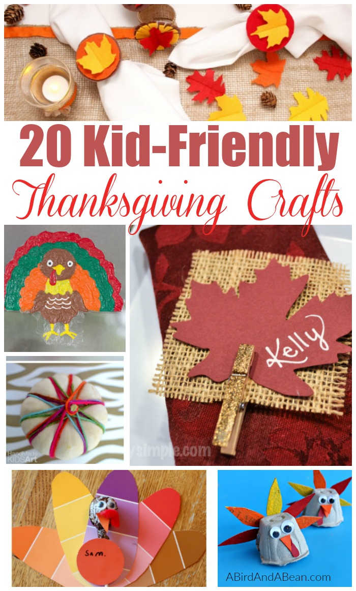 These 20 Easy Thanksgiving Crafts For Kids are ideal to keep you and your kids busy before Thanksgiving. They are affordable and easy ideas for your kids!