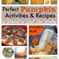Perfect Pumpkin Activities and Recipes