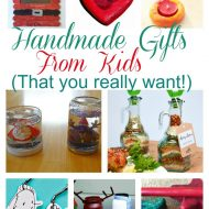Handmade Gift From Kids