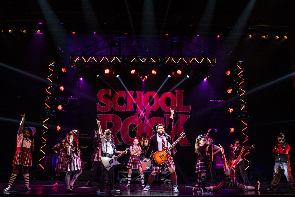 School of rock the musical comes to cincinnati a bird and a bean - School of rock box office ...