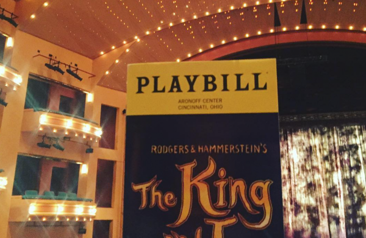 The King and I comes to Cincinnati!!