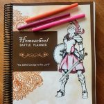 The Brand-New & Amazing Homeschool Battle Planner