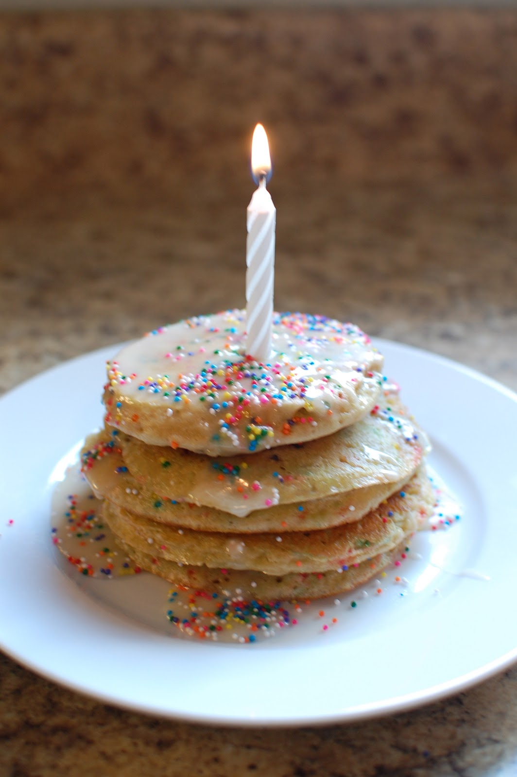 Pancakes Made With Cake Mix